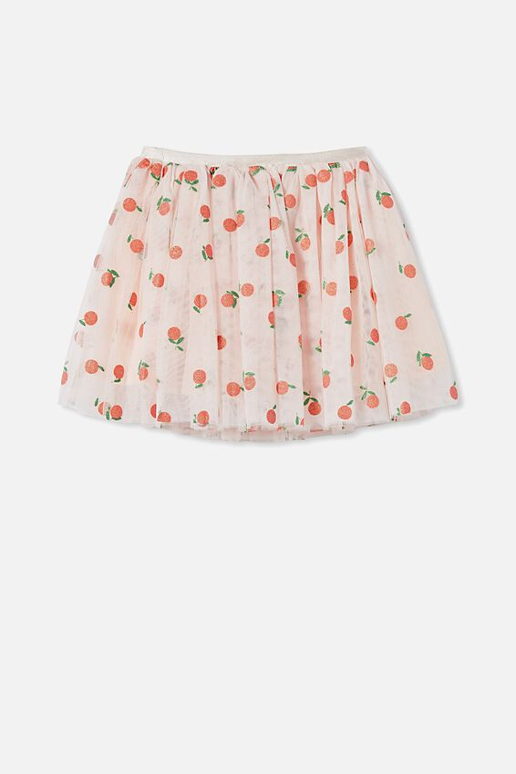 Trixiebelle Dress Up Skirt, CRYSTAL PINK/MANDARINS