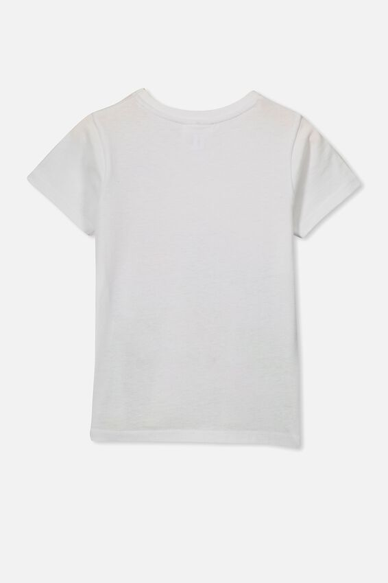 Lux Short Sleeve Tee, LCN HAS WHITE/MY LITTLE PONY SCENE/MAX