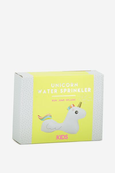 Kids Unicorn Sprinkler, MULTICOLOURED