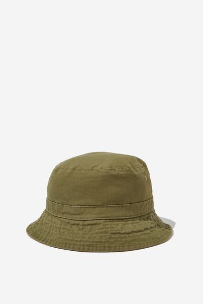 Kids Bucket Hat, SUMMER KHAKI