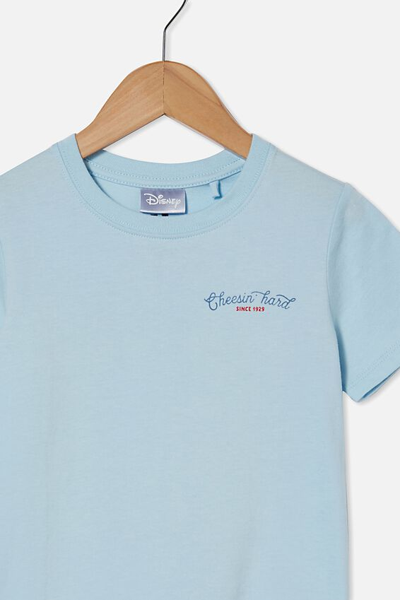 Short Sleeve License1 Tee, LCN DIS FROSTY BLUE / MICKEY