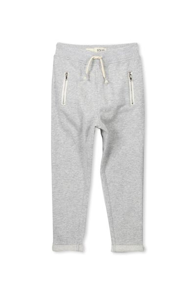 Halle Pant, LIGHT GREY MARLE