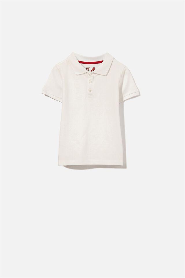 Kenny 3  Polo, WHITE
