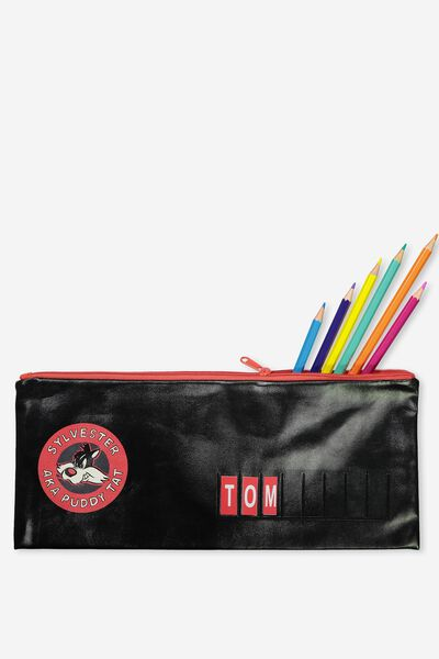 Pencil Case Name It, BLACK SYLVESTER