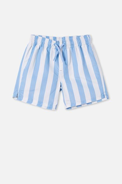 Bailey Board Short, CANDY STRIPE/DUSK BLUE