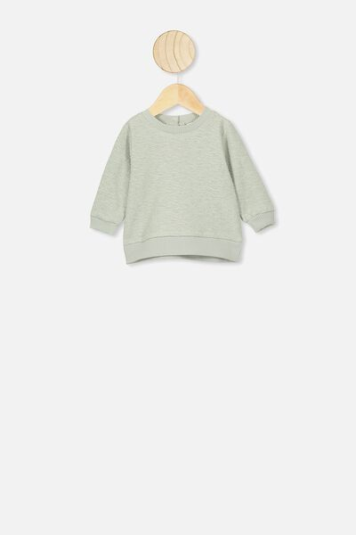 Billie Sweater, STONE GREEN