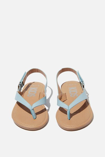 Everyday Toe Post Sandal, DUSTY BLUE