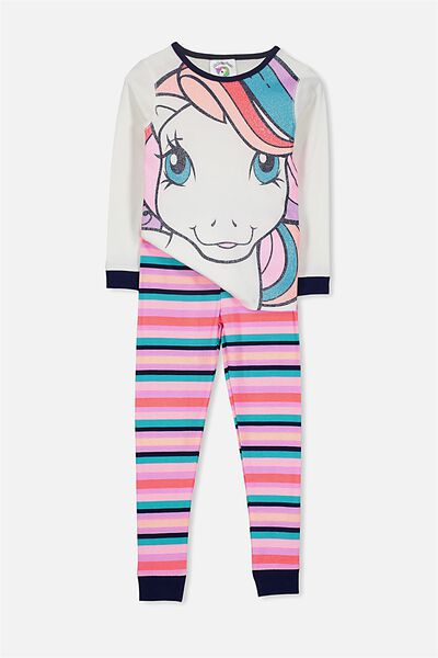 Alicia Long Sleeve Girls PJ Set, MY LITTLE PONY ZOOM