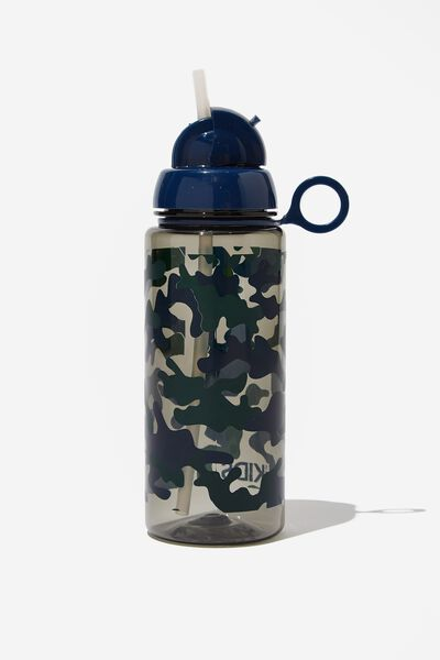 Spring Drink Bottle, DARK CAMO