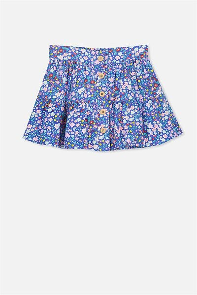 Suri Skirt, DITSY FLORAL/FRENCH BLUE