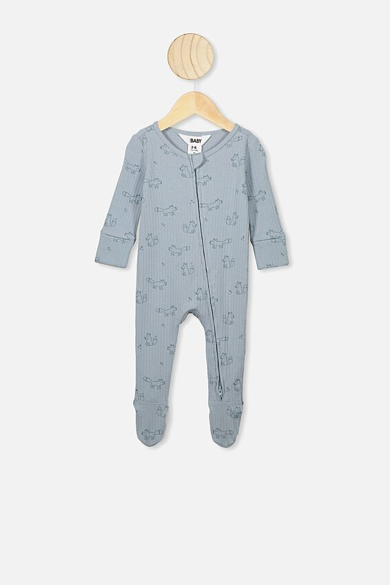 Baby Clothing Fox Bear Rompers Newborns Body Suit Kids Clothes Boy Girl Jumpsuit