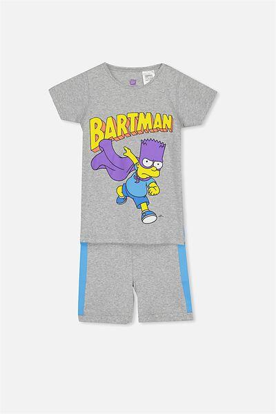 Joshua Short Sleeve Pyjama Set, LCN BARTMAN