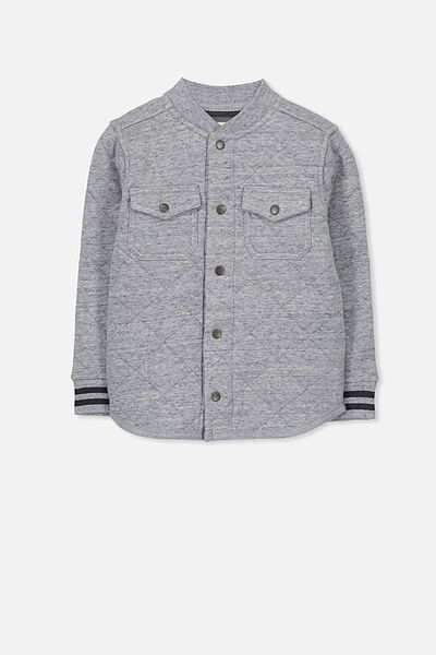 Matt Jacket, GREY NEP