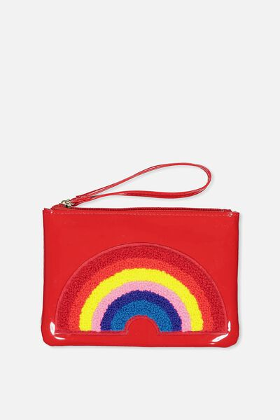 Fashion Envelope Bag, RAINBOW