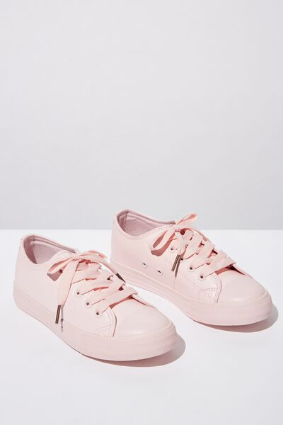 Classic Trainer Lace Up, PRIMROSE PINK