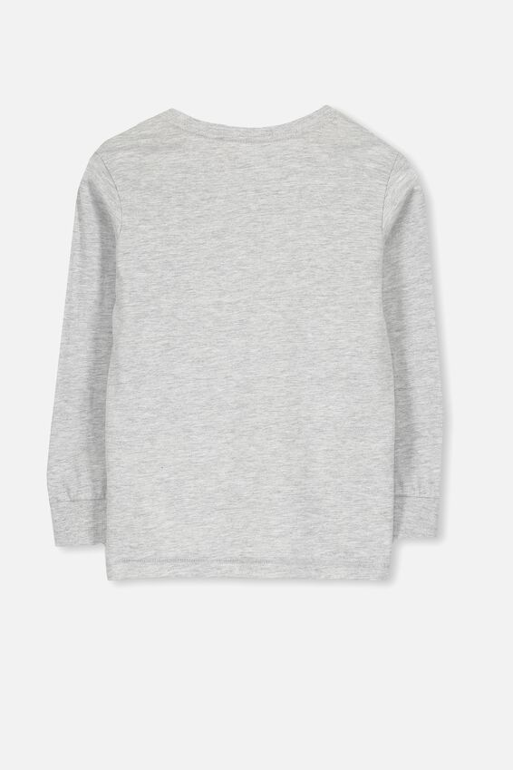 Core Long Sleeve Tee, LIGHT GREY MARLE