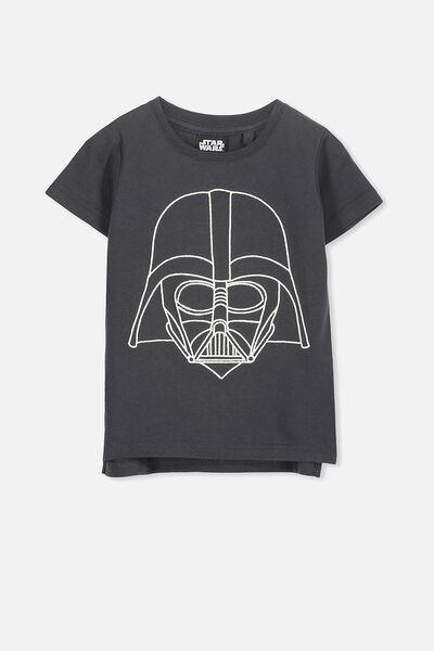 Short Sleeve License Tee, PHANTOM/DARTH VADER STITCH