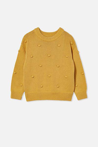 Pepper Knit Jumper, HONEY GOLD