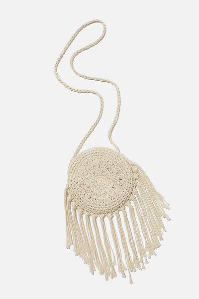 Meghan Fashion Bag, ROUND MACRAME