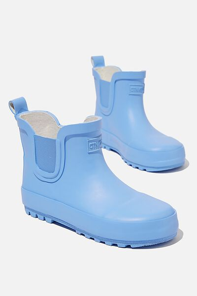 Gusset Gumboot, DUSK BLUE