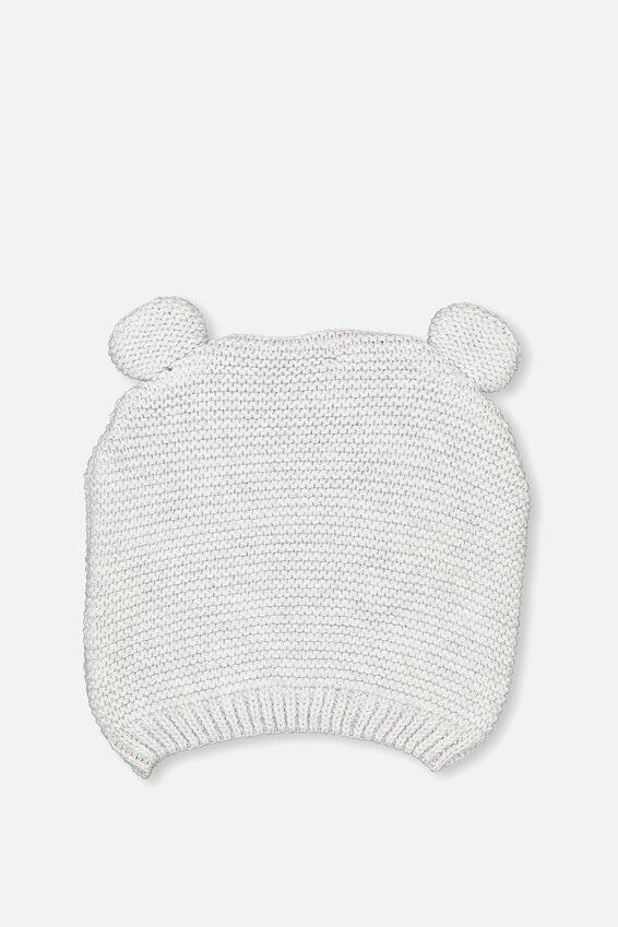 Baby Knit Beanie, BCI CLOUD MARLE