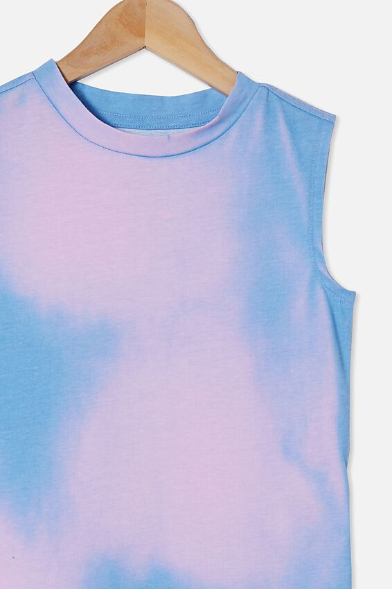 Kingston Muscle Tank, DUSK BLUE / COLOUR CHANGE