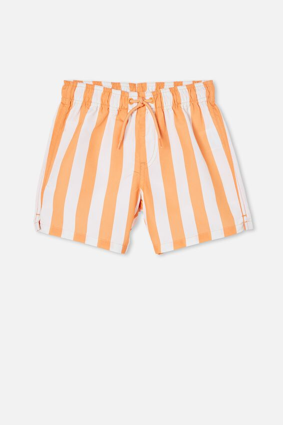Bailey Board Short, CANDY STRIPE/MELON POP