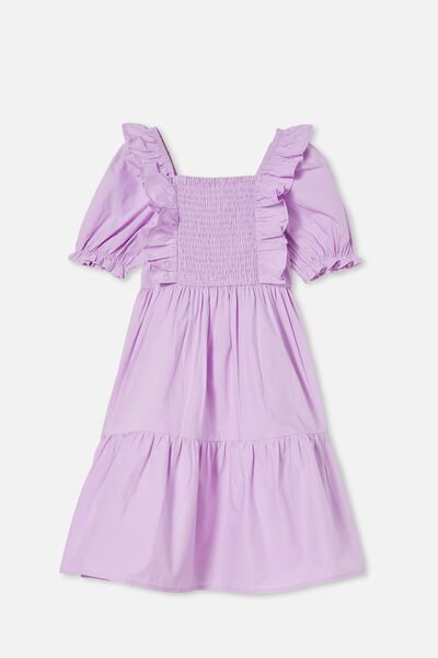 Love Short Sleeve Dress, PALE VIOLET