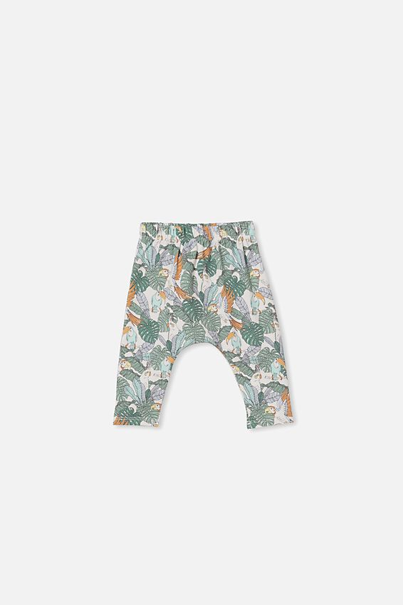 The Legging, VANILLA/JUNGLE BIRDS