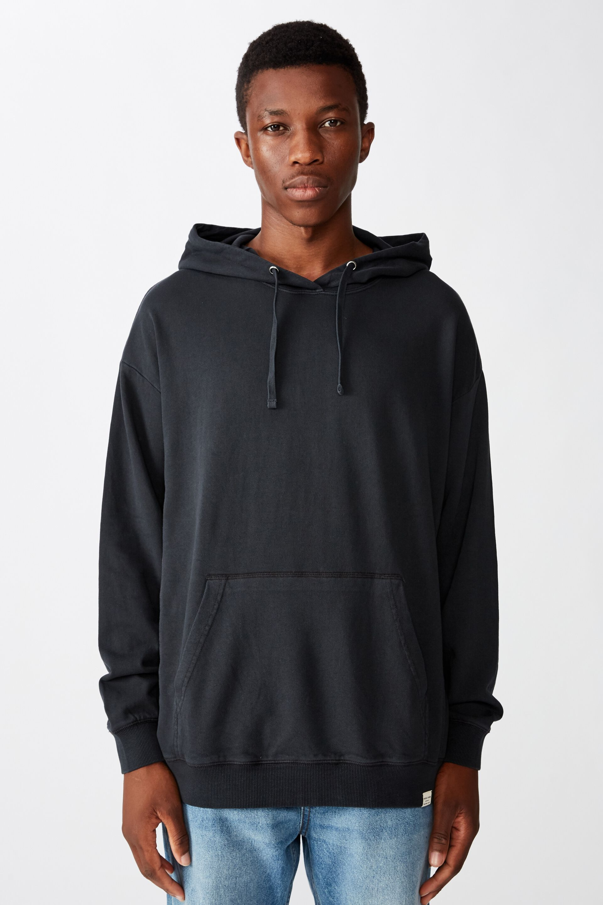Pigment Dyed Oversized Pullover   Cotton On