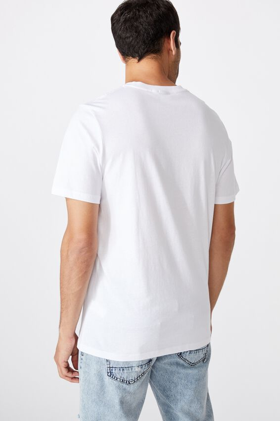 Tbar Photo T-Shirt, WHITE/PARADISE