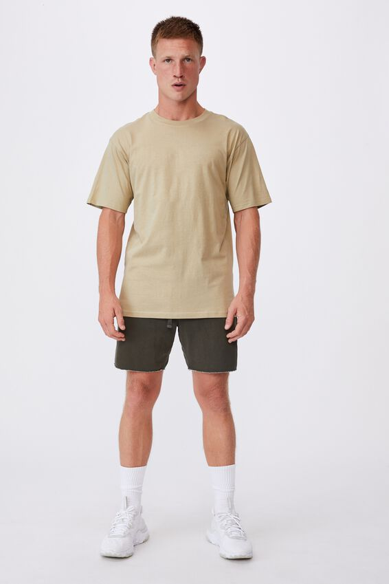 Essential Skate T-Shirt, GRAVEL STONE