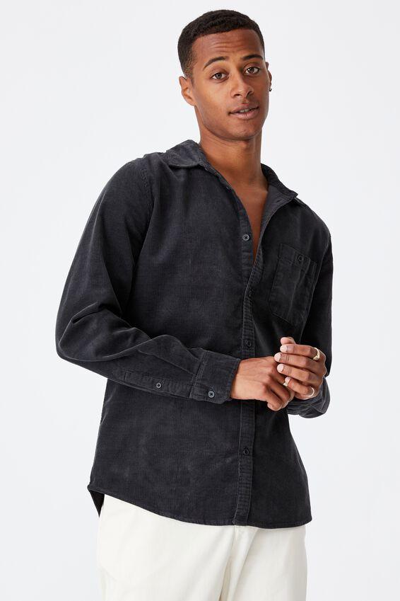 Festival Long Sleeve Shirt, BLACK CORD