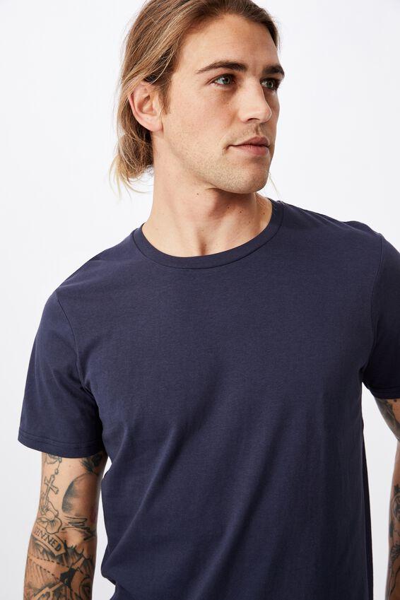 Essential Crew T-Shirt, TRUE NAVY