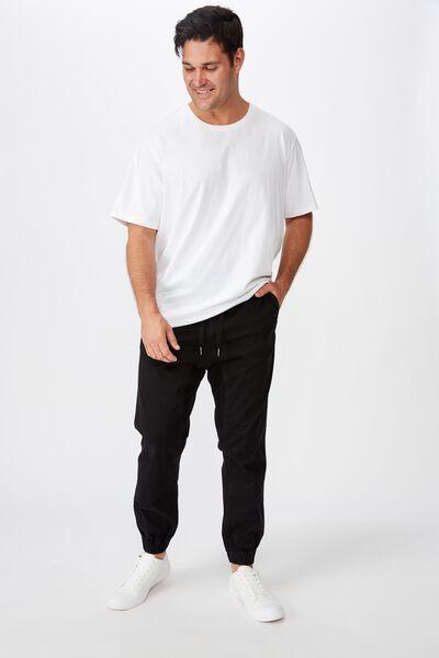 Bg Drake Cuffed Pant, TRUE BLACK