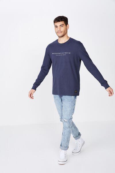feaf1517 Men's Long Sleeve T-Shirts & Longline Tees | Cotton On