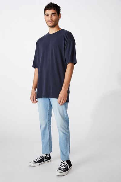 Oversized Droptail Tee, INK NAVY