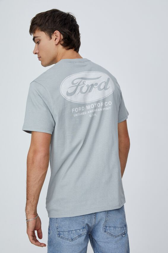 Tbar Collab Pop Culture T-Shirt, LCN FOR BLUE HAZE/FORD - AMERICAN SPIRIT