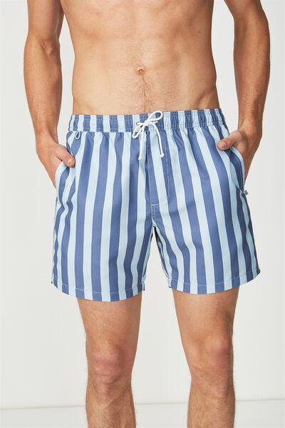 Swim Short, BLUE/NAVY YACHT STRIPE