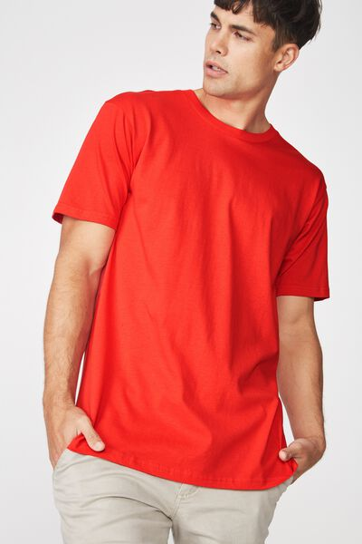 Essential Skate Tee, STRONG RED