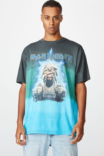 Special Edition Tee, LCN IM FADED SLATE/IRON MAIDEN - MUMMY