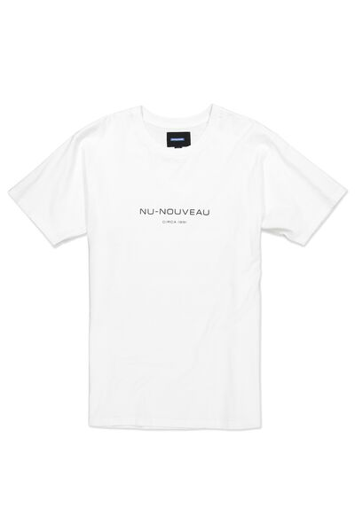 Ae Dylan Tee, WHITE/NU-NOUVEAU