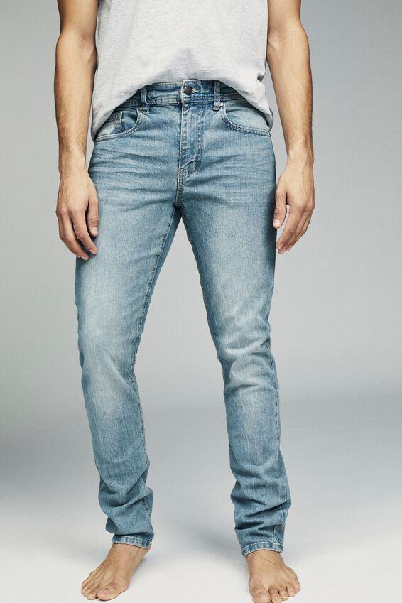 Slim Fit Jean, WORKER BLUE