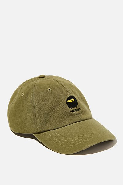 Special Edition Dad Hat, LCN IRV GRASS GREEN/THE BOSS
