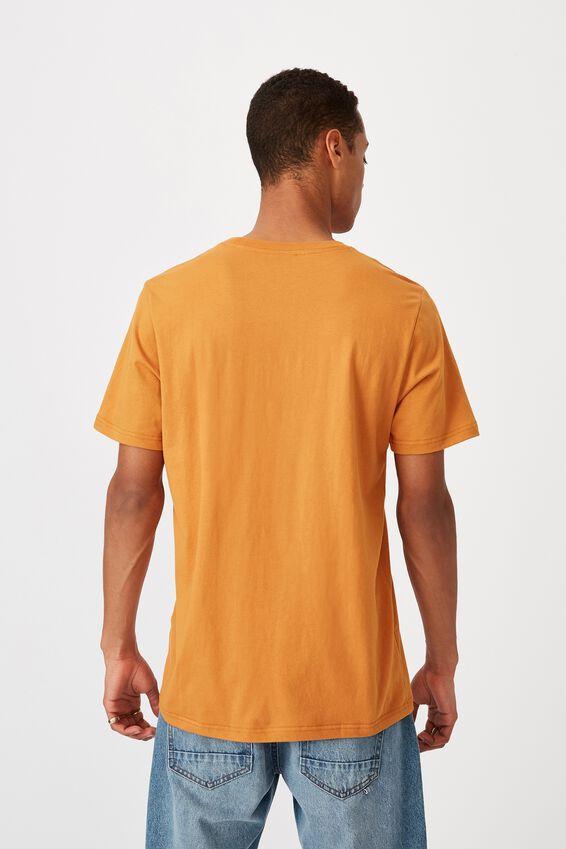 Tbar Text T-Shirt, BUCKSIN GOLD/WEEKEND STUDIO