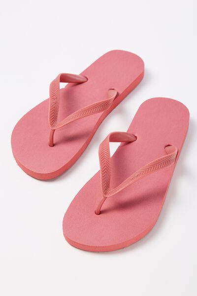 Bondi Flip Flop, WASHED RED
