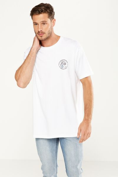 Dylan Tee, WHITE/GOOD LUCK