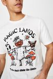 SK8 VINTAGE WHITE/MAGIC LANDS