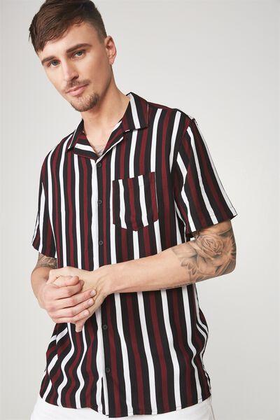 Festival Shirt, BLACK BURG STRIPE