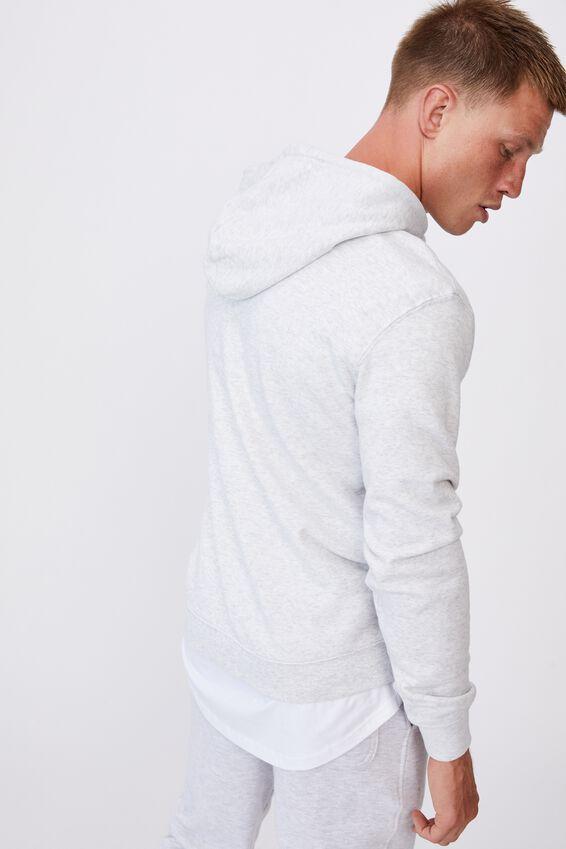 Essential Fleece Pullover, ATHLETIC MARLE